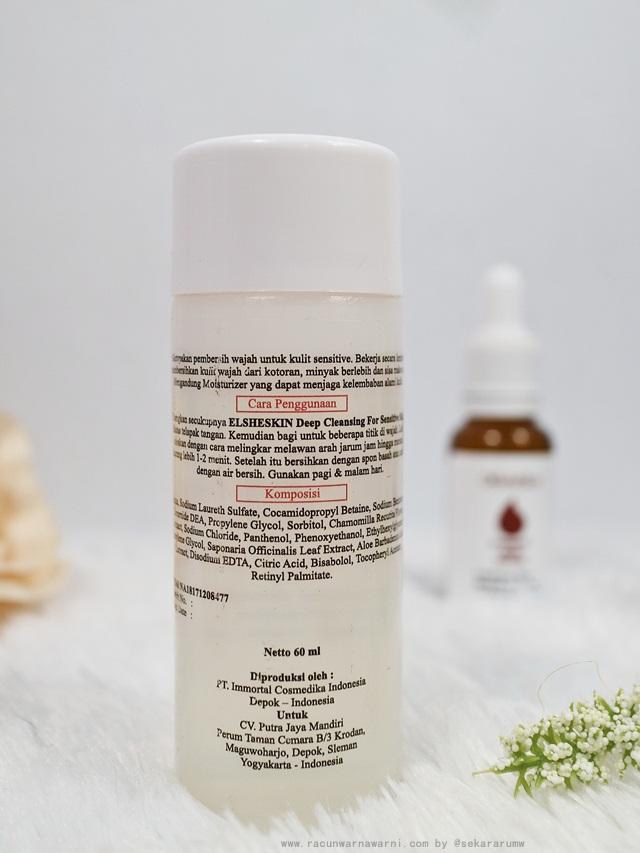 Cara Penggunaan dan Komposisi Facial Wash