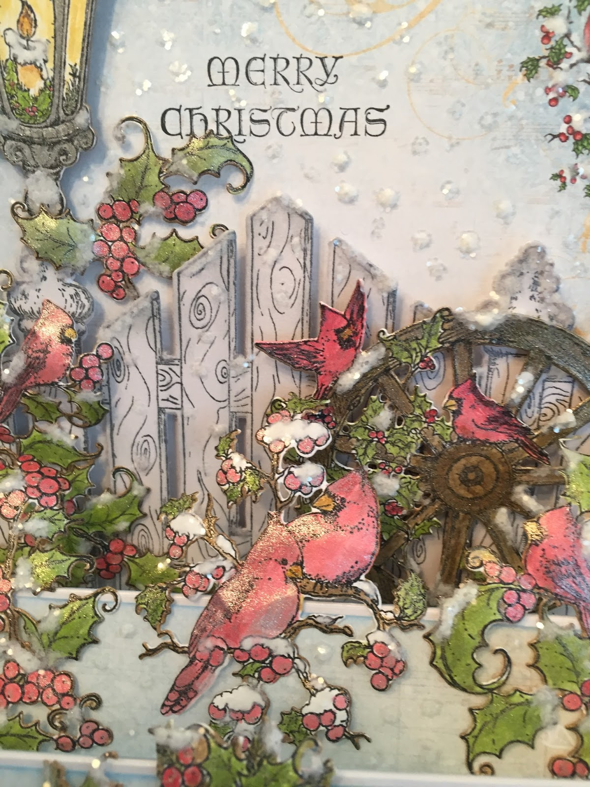 Heartfelt Creations Christmas Card Collection