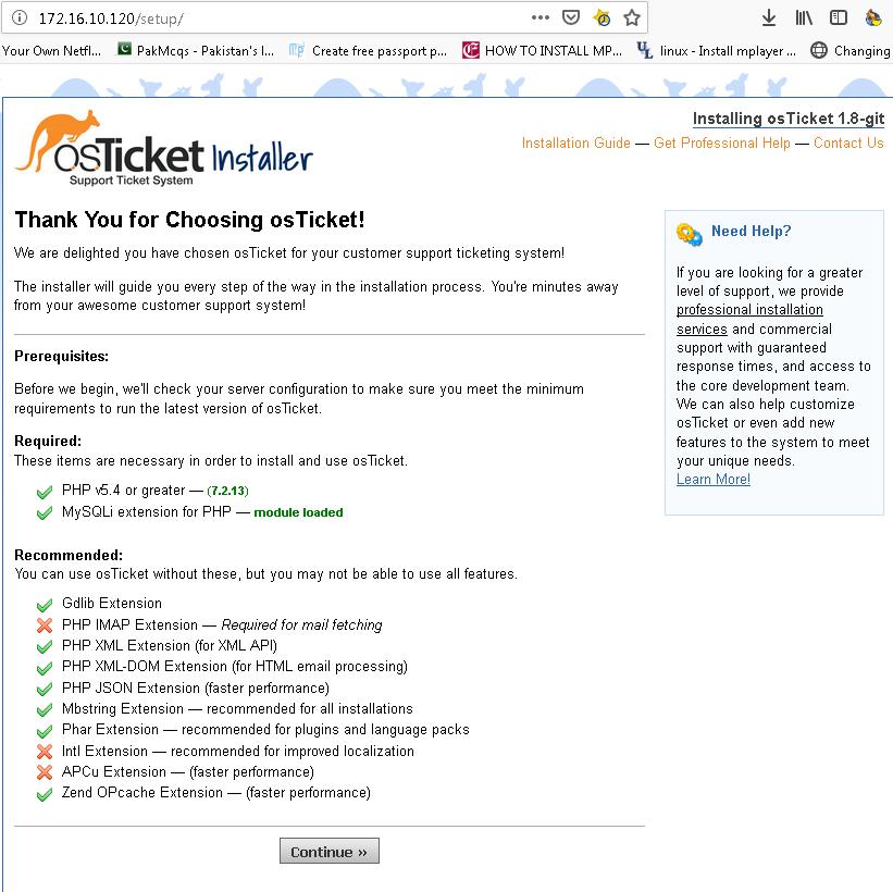 OS Ticket installation in Centos 7 - NETWORKSTIP Networking CCNA