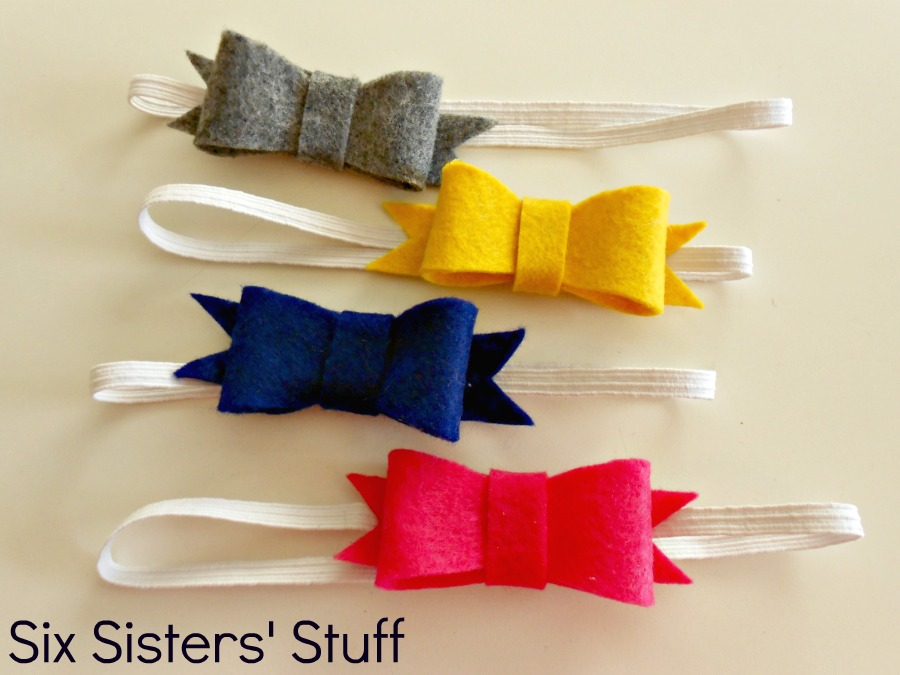 Felt Bow Hairbow Tutorial And Free Printable Template