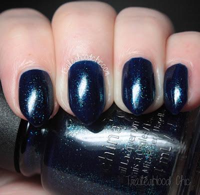 china glaze rebel swatches review blue-ya