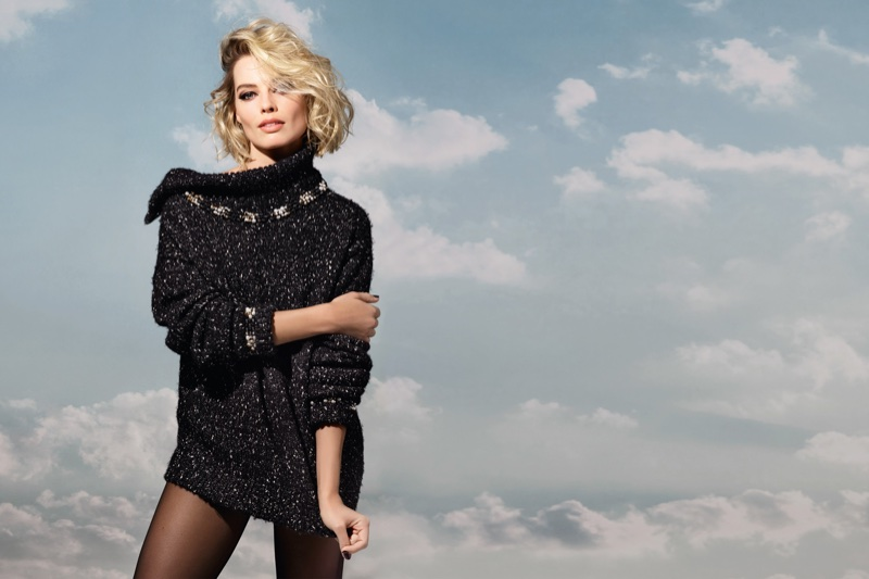Margot Robbie for Chanel 'Coco Neige'
