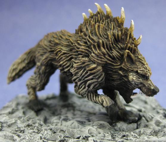 WZK73184 Pathfinder Deep Cuts Unpainted Miniatures Dire Wolf