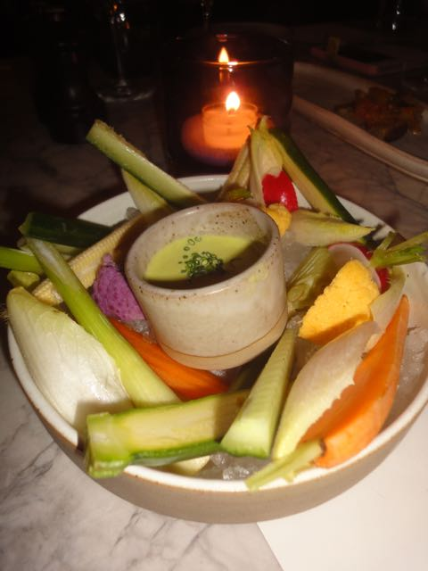 Vegetables and dips