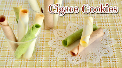 how to make YOKUMOKU Cigare Cookies ヨックモック シガール, which are very popular gift treats in Japan