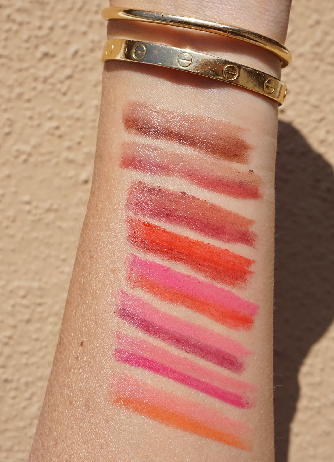 by terry twist on lipstick swatches