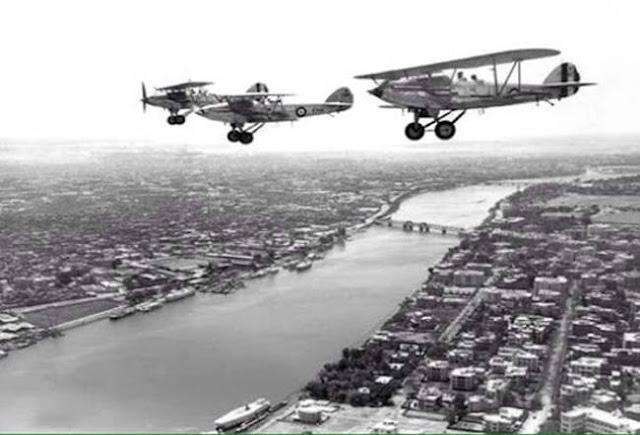 القاهرة من الجو سنة 1936 Cairo