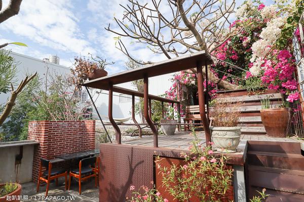 《台中.北屯》Buka這一隻熊|簡餐|咖啡|各國雜貨|城市花園|落羽松|環境舒適|免費入園