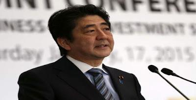 رئيس وزراء اليابان سينزو آبى