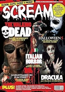 SCREAM THE HORROR MAGAZINE