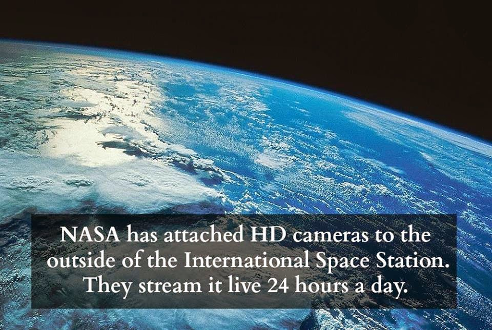 ATLANTEAN GARDENS: NASA Camera Streaming Live From Space