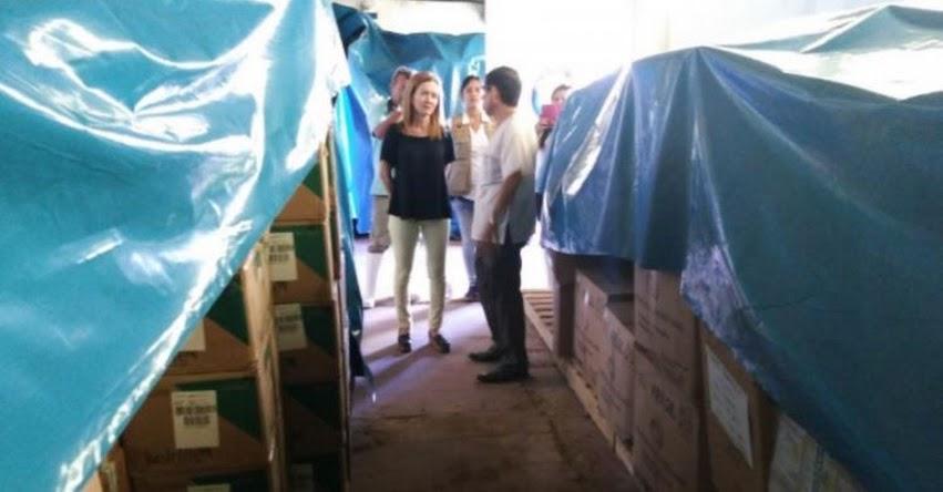 Dos buques de la Marina llegan hoy a Piura con ayuda humanitaria, informó la Ministra Marilú Martens