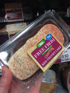 asda free from red velvet cake