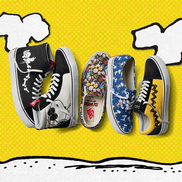 Vans Releases Nostalgic Capsule Collection Featuring the Peanuts Gang by Charles M. Schulz
