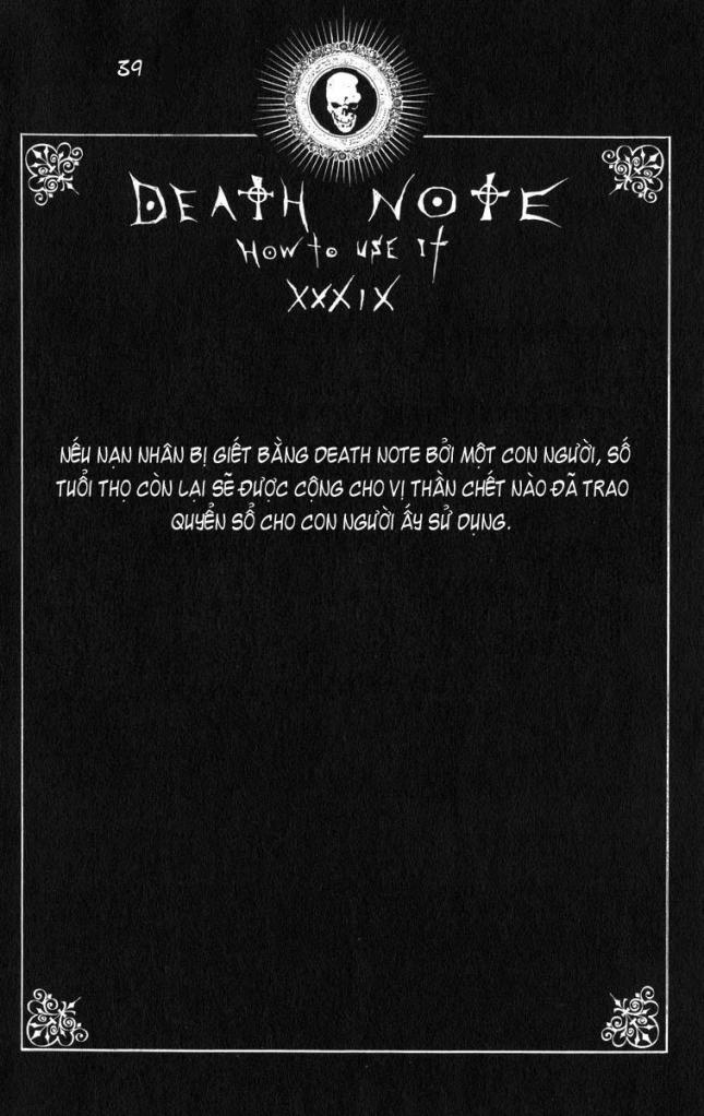 Death Note chapter 110 - how to use trang 42