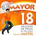 Resultados del Sorteo Mayor 3644 de la Lotería Nacional de México - Martes 10 de octubre de 2017