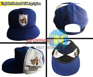 Produksi Topi Drill Sekolah, Produsen Topi Drill Sekolah, distributor Topi Drill Sekolah, Bikin Topi Drill Sekolah