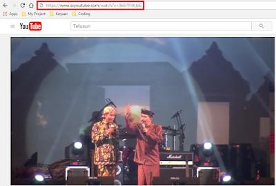 Cara Mudah Download Video Youtube Tanpa Menggunakan Software 1