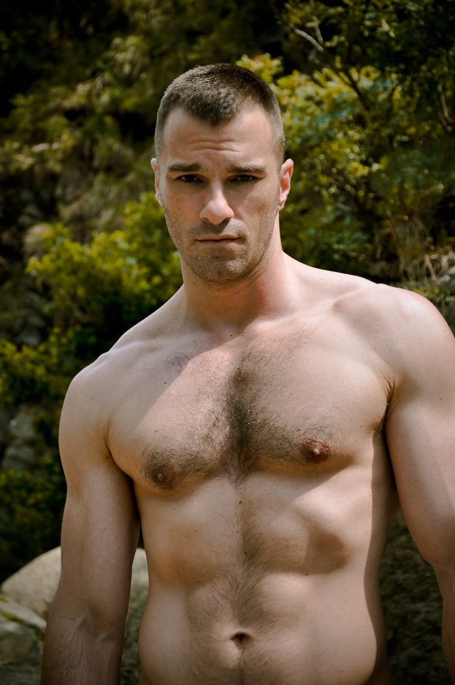 male hairy chest