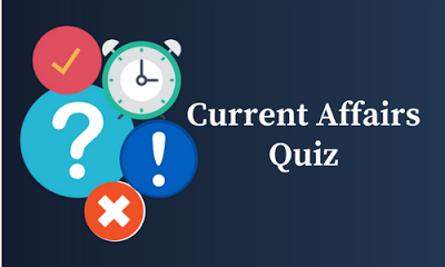 Current Affairs Quiz: 3 February 2018