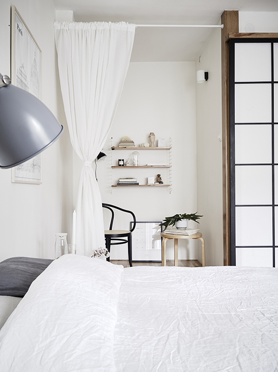Welcoming scandinavian bedroom | Photography Jonas Berg, styling Up The Wooden Hills via Stadshem
