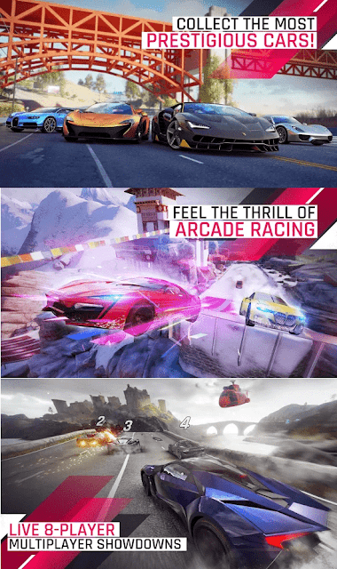 Asphalt 9 Airborne Legends - Screenshots