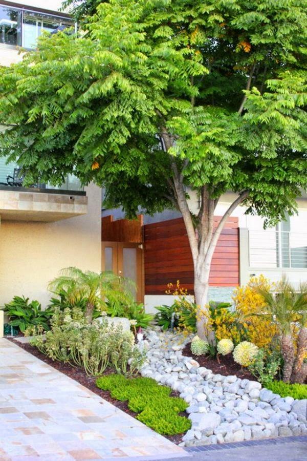 Hogares frescos olvida el aspecto tradicional modernas for Fotos de jardines de casas modernas