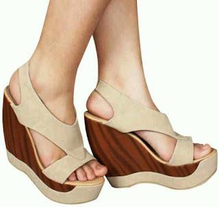 Sandal Wedges Cantik Yang Paling Disukai Wanita 201601
