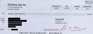 bukti pembayaran clixsense 1