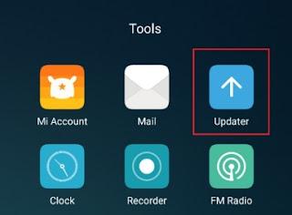 Cara mengatasi menu updater hilang di Xiaomi