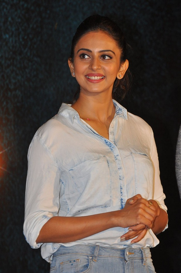 Rakul Preet Singh At Jaya Janaki Nayaka Title Logo Launch Gallery