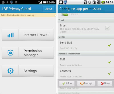 LBE Privacy Guard for Android
