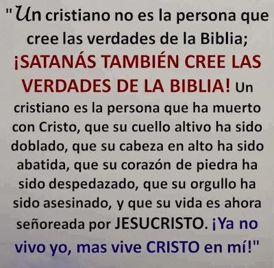Lo que es un cristiano