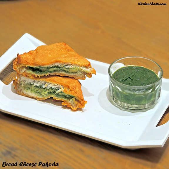 Bread+Cheese+Pakoda
