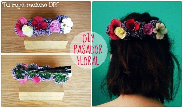 DIY: Pasador floral