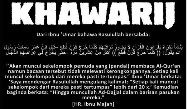 Apa Itu Khawarij Siri 1: Dzul Khuwaisirah Bapak Segala Khawarij