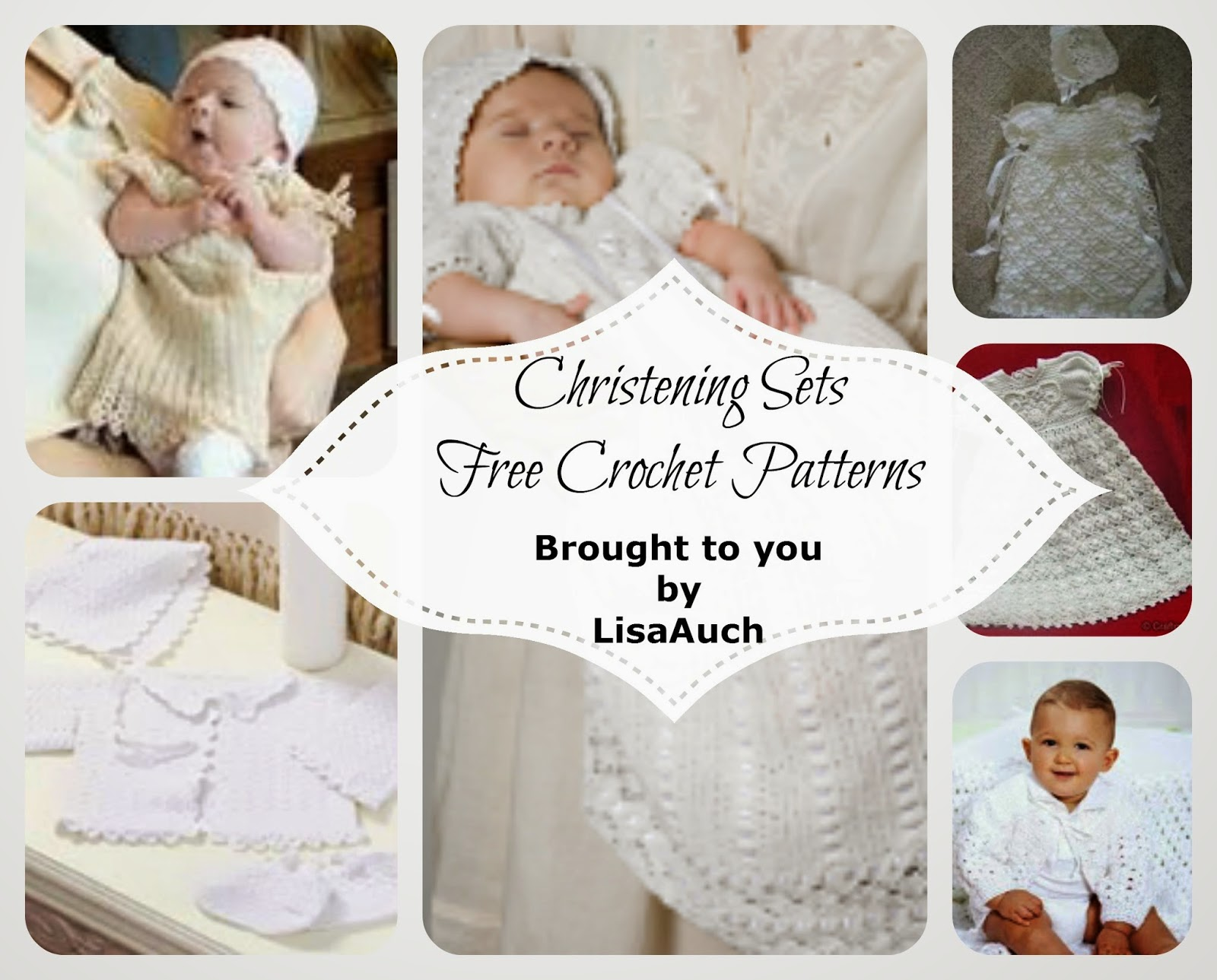 http://www.crochet-patterns-free.com/2013/12/free-crochet-christening-gown-patterns.html