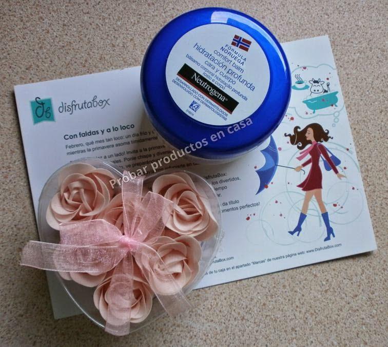 Disfrutabox: Neutrogena y croazón pétalos