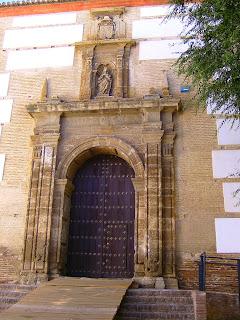 Front Door Iglesia de la Magdalena, Guadix