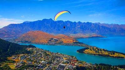 G Force Paragliding Tempat menarik di new zealand