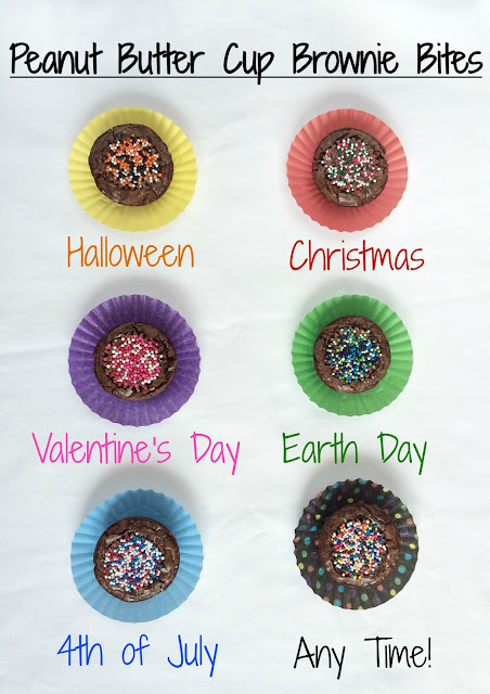 decorating ideas for brownie bites