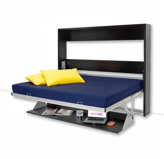 [Rao vặt] Giường ngủ xếp gọn thành bàn làm việc
