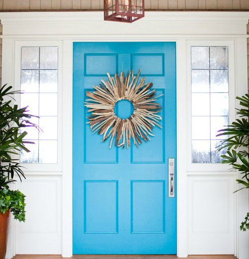 Door Decorating Ideas Home Decor And Design Image Of: Shop The Look - Coastal Decor Ideas And Interior Design