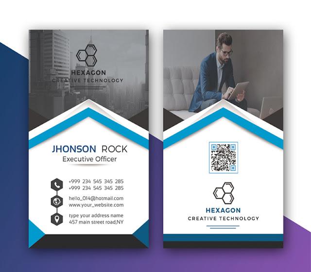 Freebie Modern Corporate Business Card