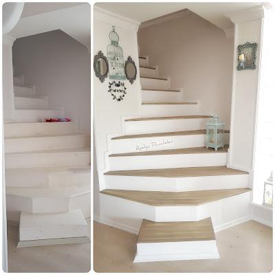 mermer yada ahşap merdiven boyama