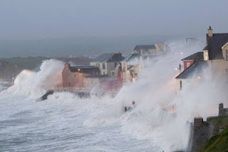 storm blasts across Europe, killing three