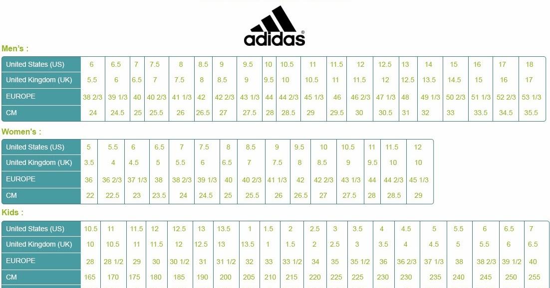 Women S Shoe Size Conversion Chart To Men S