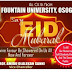 Eid-l-fitr: Fountain Varsity Charges Muslims On Nat'l Development And Cohesion