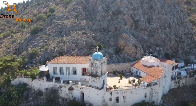 Το εκπληκτικό ιστορικό μοναστήρι της Παναγίας της Πορτοκαλούσας στο Άργος (βίντεο)