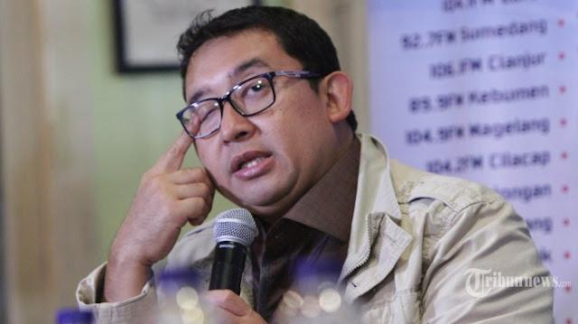 Fadli Zon: Korupsi itu oli pembangunan!!
